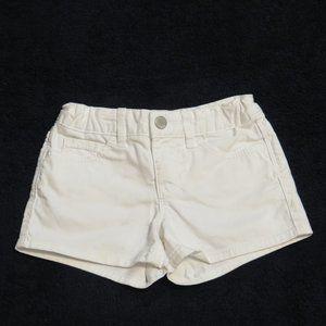 GAP Girls (7 years) white 1969 Shorts - Like New